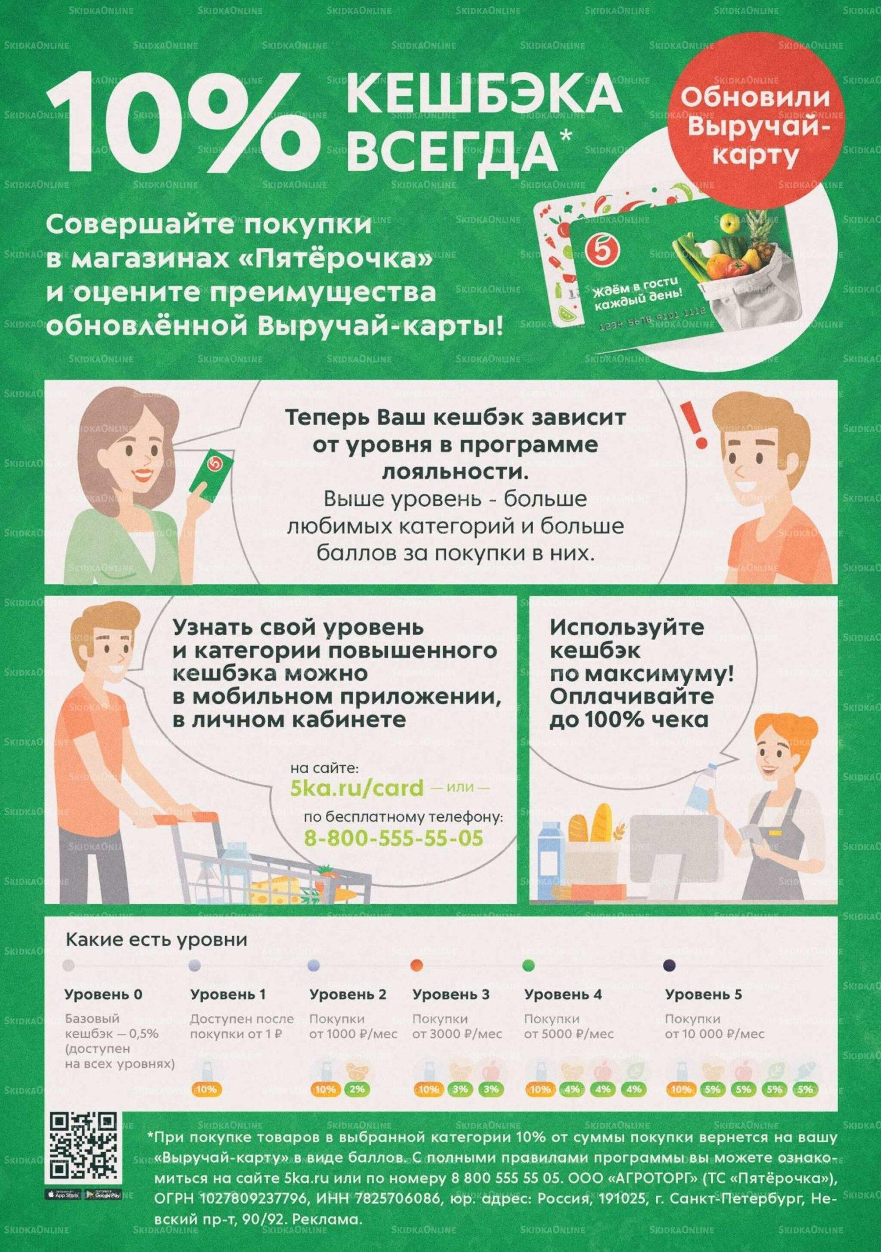 Акции в Пятёрочке с 13 по 19 июля 2021 года